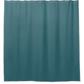 Normallack des Pfau-Blau-(dunkles aquamarines oder Duschvorhang