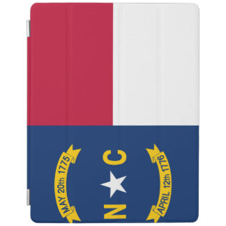 North Carolina-Flagge iPad Hülle