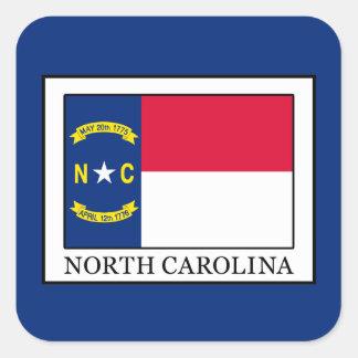 North Carolina Quadratischer Aufkleber