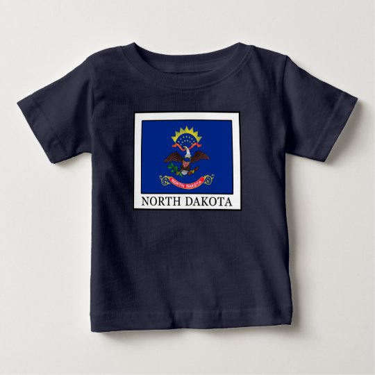 North Dakota Baby T-shirt