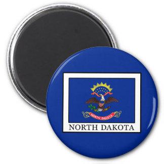 North Dakota Runder Magnet 5,7 Cm
