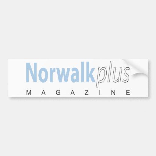 Norwalk plus la magazine autocollant pour voiture