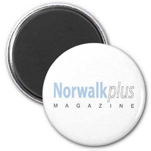 Norwalk plus la magazine aimants pour réfrigérateur