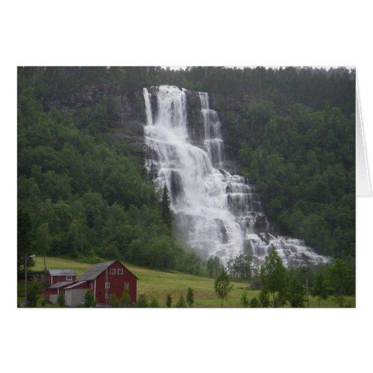 Norwegen 2008 karte