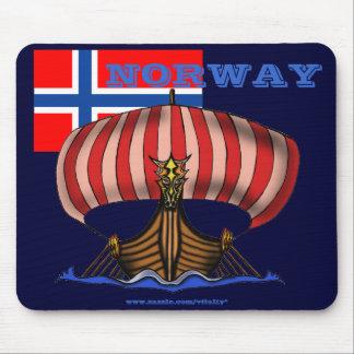 Norwegen cooler mousepad Entwurf