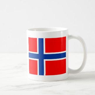 Norwegen-Flagge Kaffeetasse