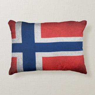 Norwegen-Flagge - Kissen