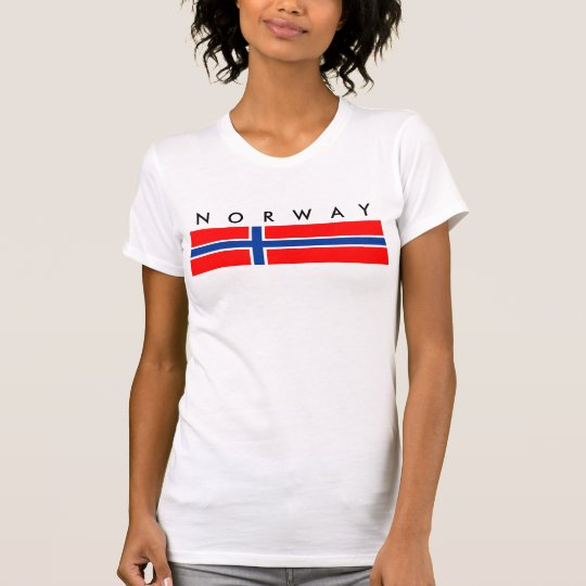 Norwegen-Landesflaggenationssymbol T-Shirt