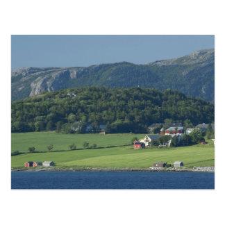 Norwegen, Trondheimsforden, Trondheim. Typisch Postkarte