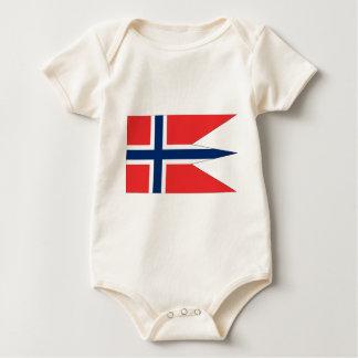 NorwegenFlagge #2 Baby Strampler