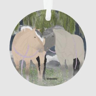 Norwegische Fjord-Pferde Ornament