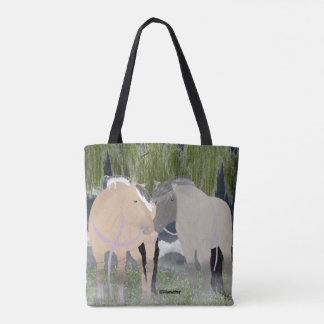 Norwegische Fjord-Pferde Tasche
