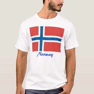 Norwegische Flagge Norwegen T-Shirt