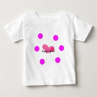 Norwegische Sprache des Liebe-Entwurfs Baby T-shirt