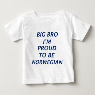 Norwegischer Entwurf Baby T-shirt