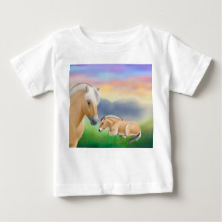 Norwegischer Fjord-PferdeSäuglings-T - Shirt