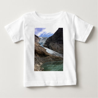 Norwegischer Gletscher Baby T-shirt