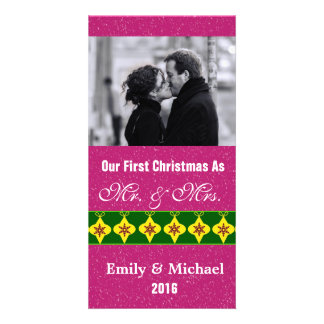 Nos premiers cartes photos de mariage de Noël, Photocartes