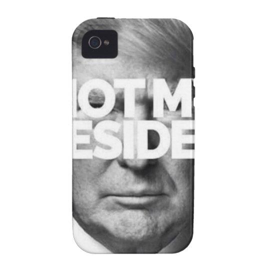 not my president iPhone 4 hüllen