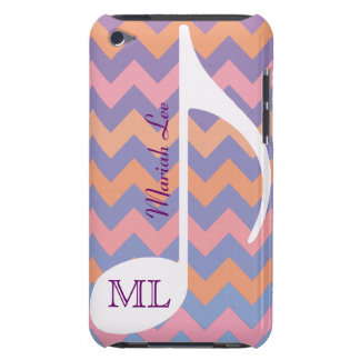 note musicale et chevron personnalisables coques barely there iPod