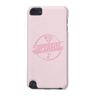 Note rose de musique de Supergirl Coque iPod Touch 5G