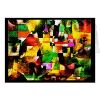 Notecard-Klassisch/Vintag-Paul Klee 24 Karte