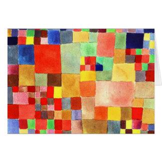 Notecard-Klassisch/Vintag-Paul Klee 8 Karte