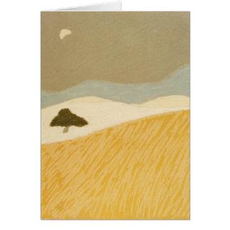 Notecard, Mond-und Feld-Reihe, I Karte