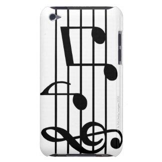 Notes de musique étui iPod touch