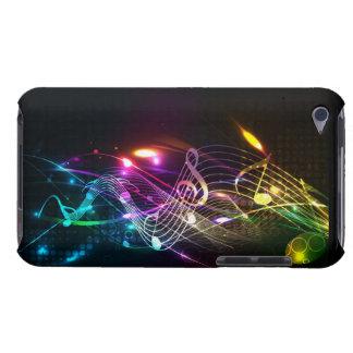 Notes de musique en couleurs pour des mélomanes étui iPod touch