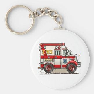 Notfall Kasten-Krankenwagen EMS EMT Standard Runder Schlüsselanhänger