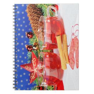 Notizbuch frohe Weihnachten Notizblock