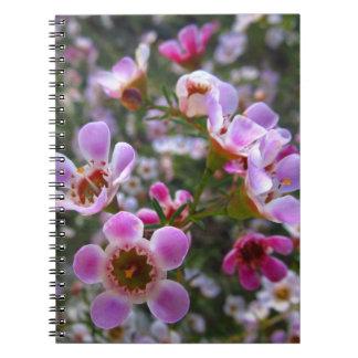 Notizbuch/persönliche Zeitschrift - rosa manuka Notiz Buch