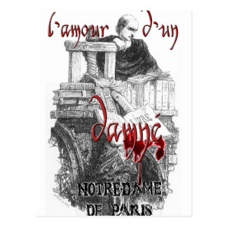 Notre Dame de Paris - Claude Frollo Postkarte