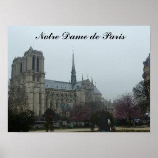Notre Dame de Paris-Plakat Poster