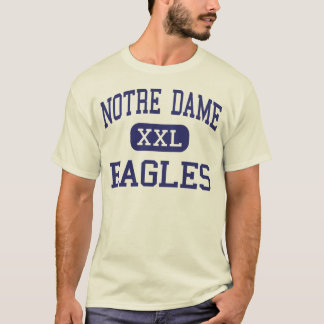Notre Dame - Eagles - hoch - Trenton New-Jersey T-Shirt