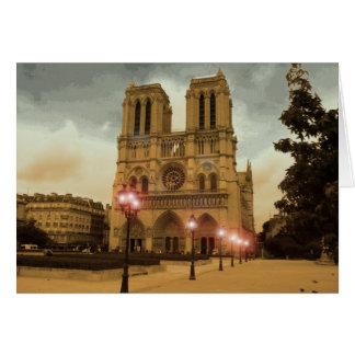 Notre Dame Karte