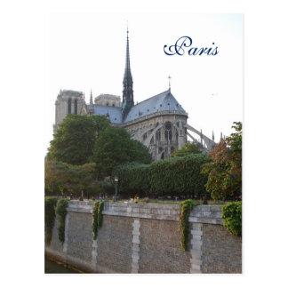 Notre Dame-Kathedrale - Paris, Frankreich Postkarte