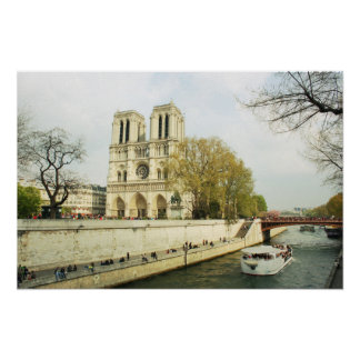 Notre Dame-Kathedrale Poster
