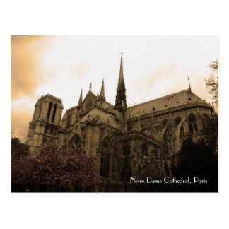 Notre Dame-Kathedrale Postkarte