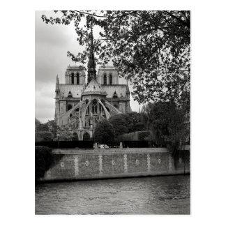 Notre Dame-Kathedralen-Postkarte Postkarte