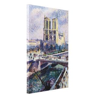 Notre Dame Leinwanddruck