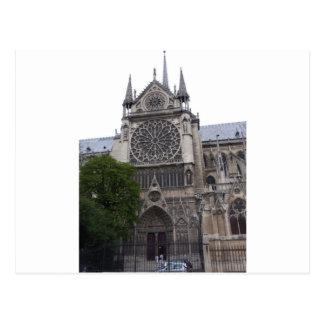 Notre Dame, Paris, Frankreich Postkarte