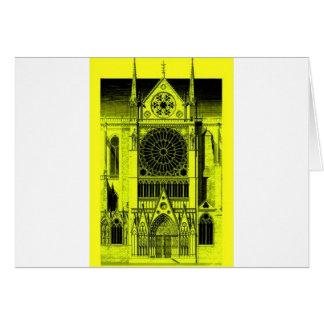 Notre- Damegelb Karte