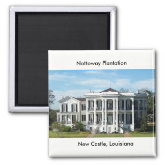 Nottoway Plantage Quadratischer Magnet