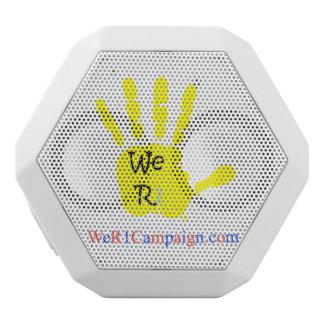 Nous haut-parleur jaune de Bluetooth de la main R1