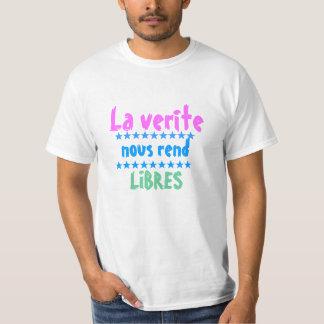 Nous La verite zerreißen libres T-Shirt