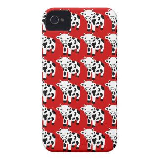 Nouveau cadeau rouge mignon de caisse de Blackberr Étui iPhone 4