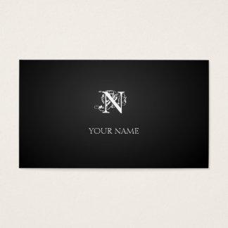 Nouveau Graphite Visitenkarten