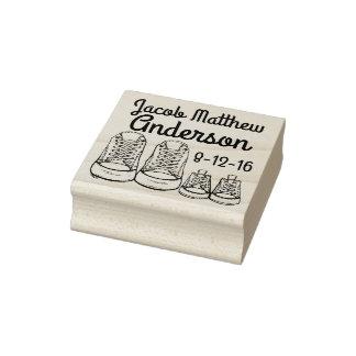 Nouveau timbre personnalisé de naissance de